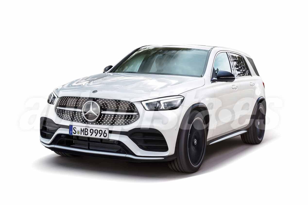 Mercedes GLE 2019: presentación inminente