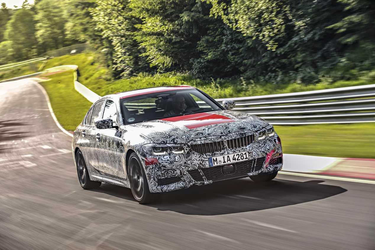 BMW Serie 3 2019: la nueva berlina, a prueba antes de su estreno