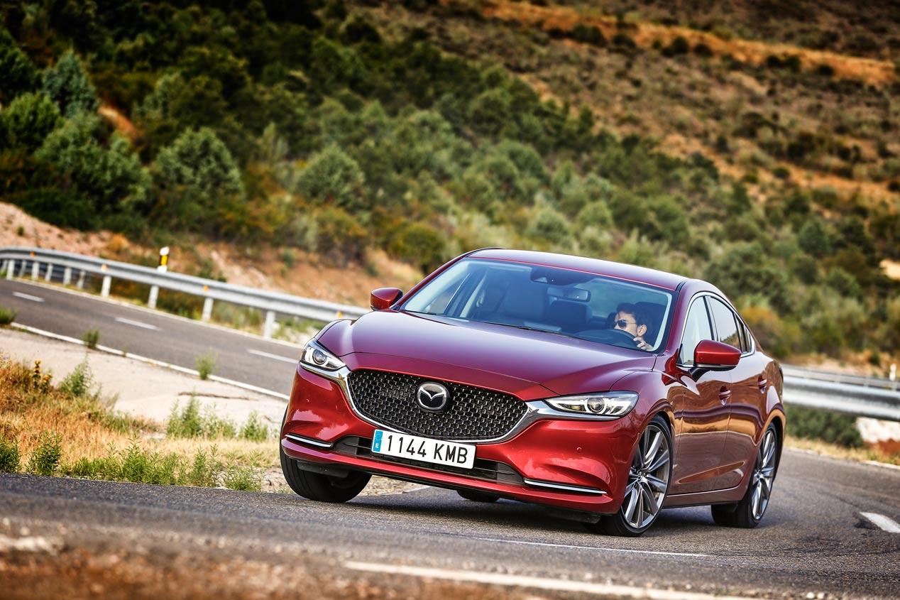 A prueba el Mazda6 de gasolina con motor 2.0 Skyactiv-G 145 CV