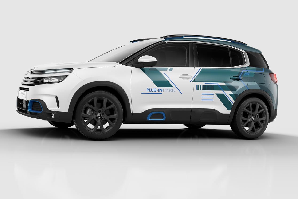 El futuro Citroën C5 Aircross híbrido enchufable, en imágenes