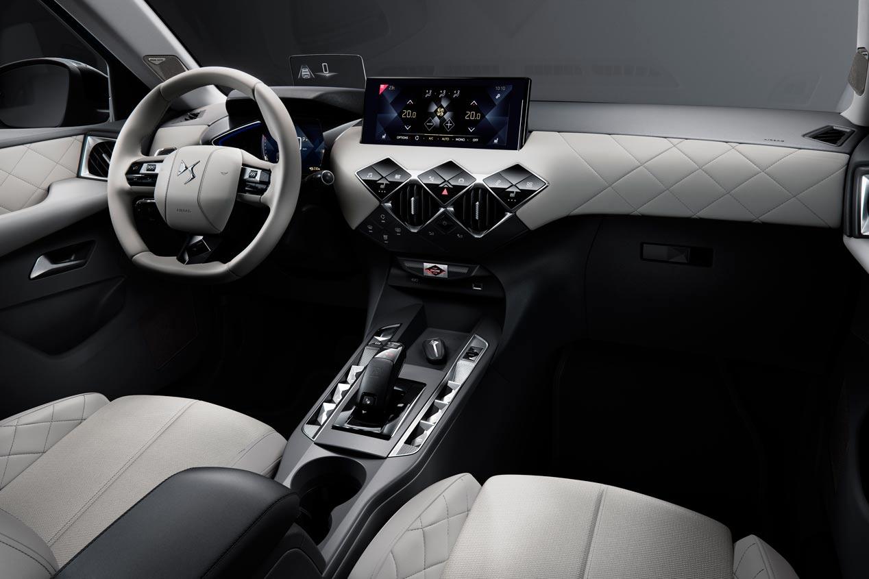 DS 3 Crossback: primeras imágenes oficiales del nuevo SUV