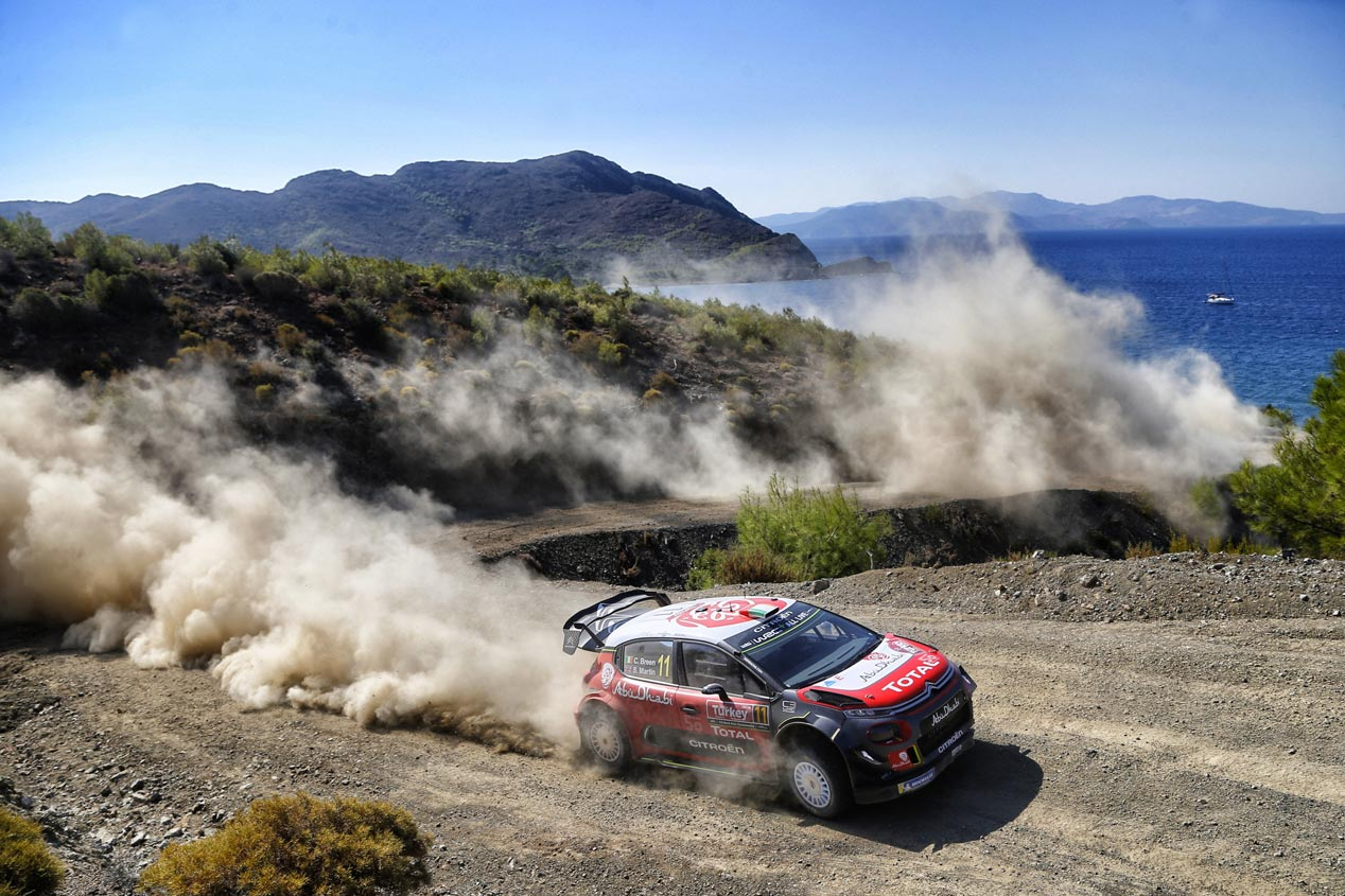 Las mejores fotos del Rally de Turquía 2018