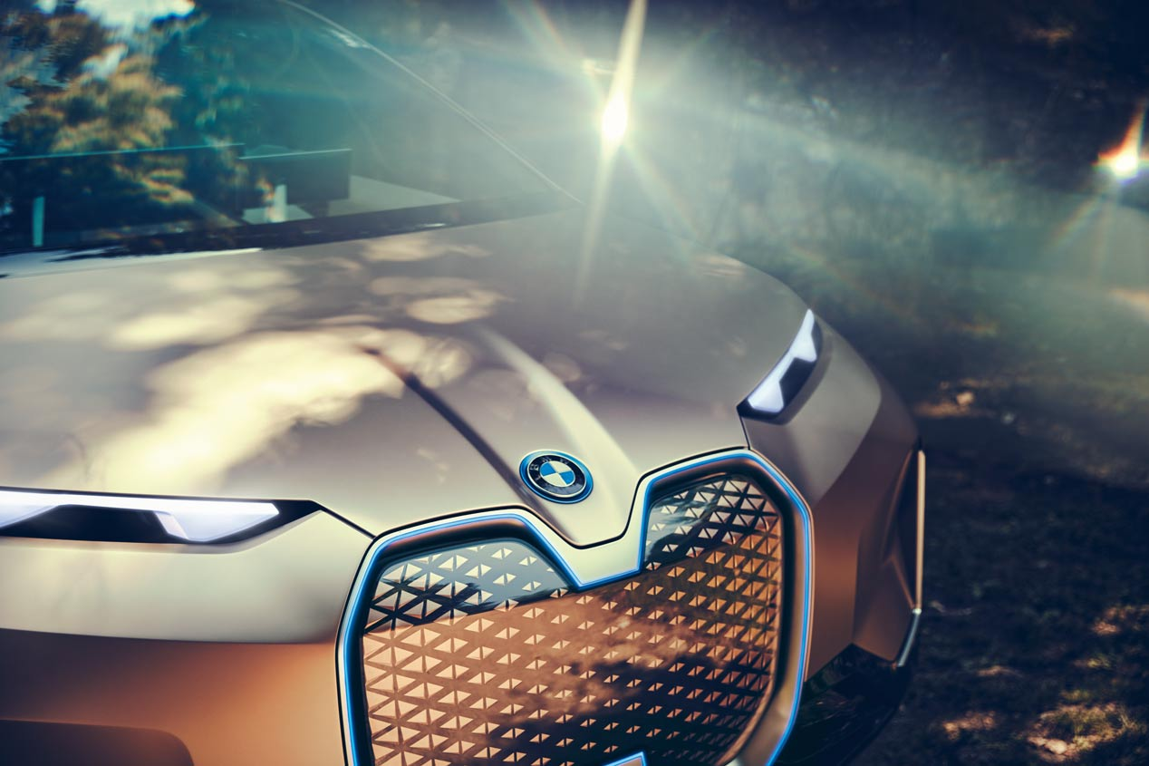 El BMW Vision iNEXT, en imágenes
