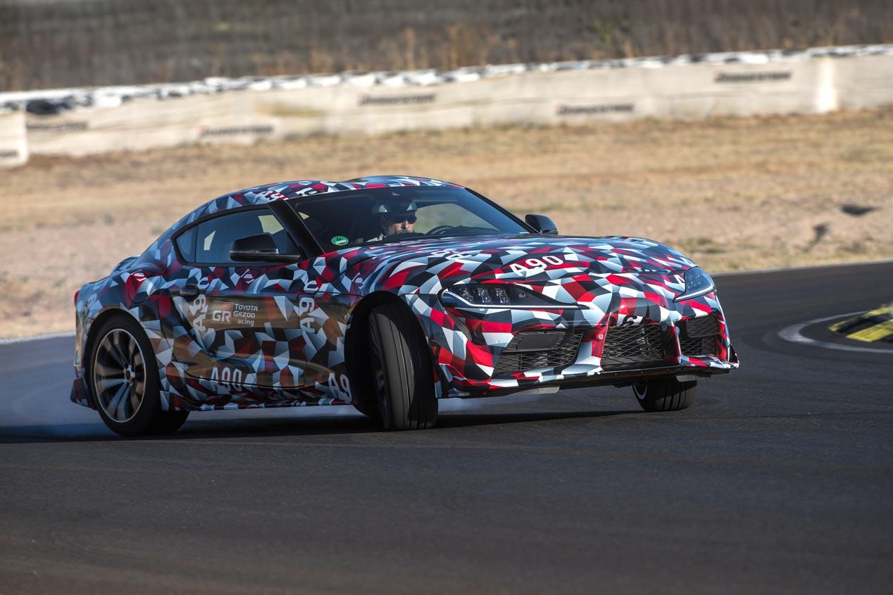 El Toyota Supra 2019, a prueba