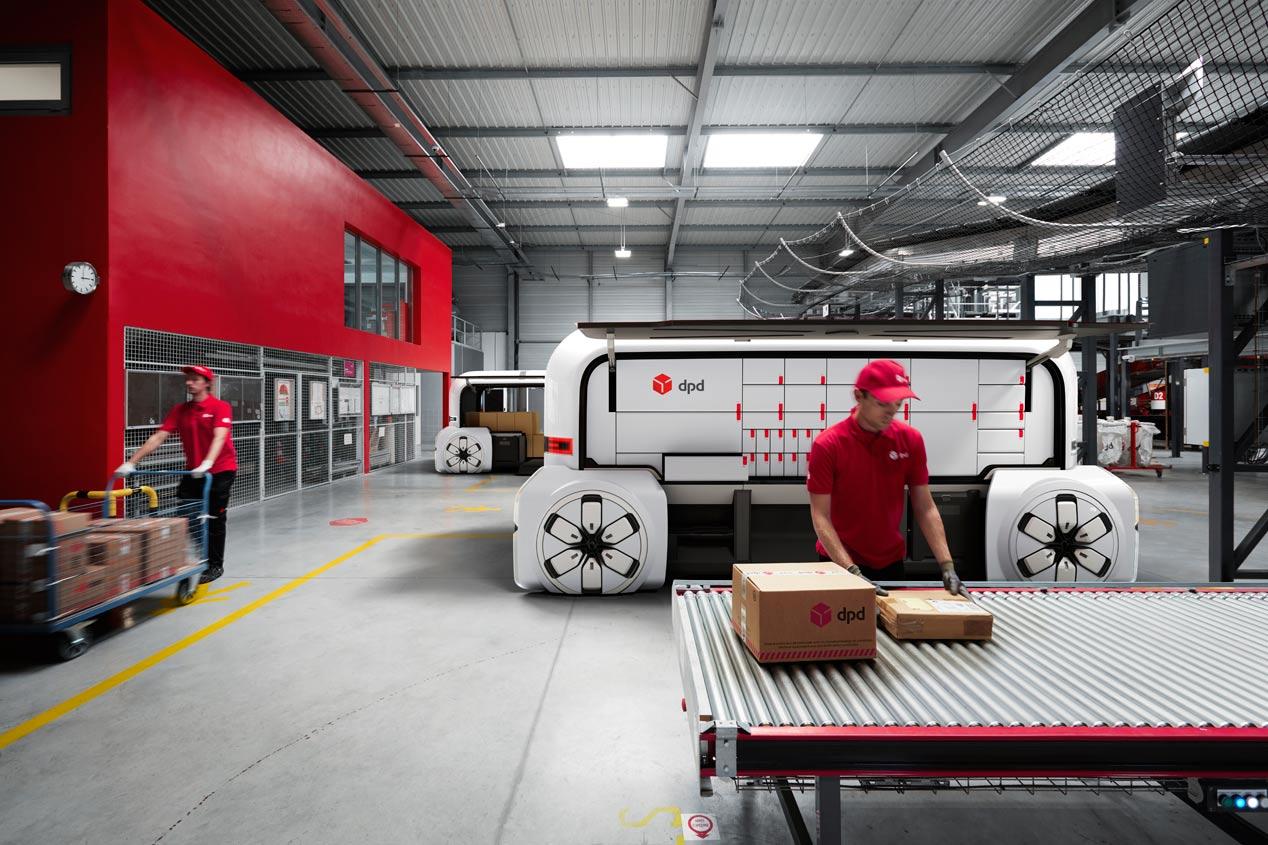 Renault EZ-Pro: las furgonetas de reparto del futuro