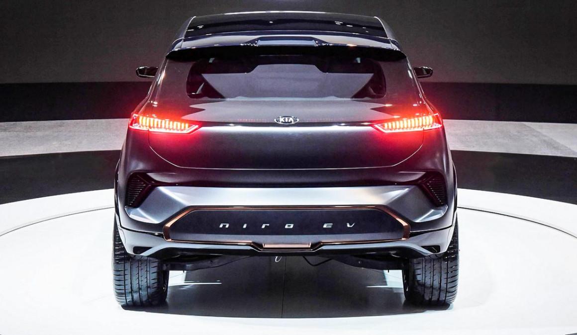 Kia e-Niro: el nuevo SUV eléctrico, en imágenes