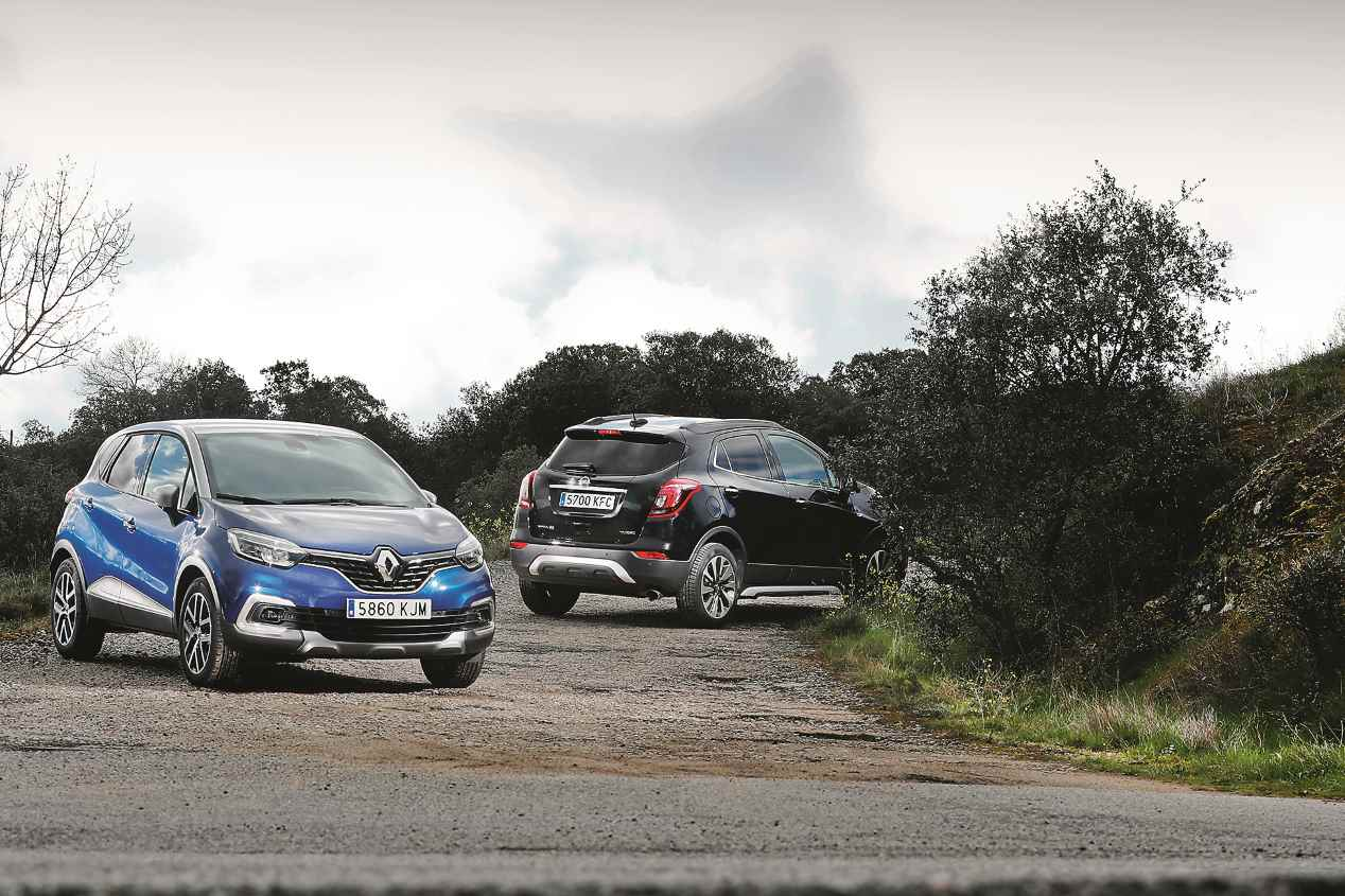Comparativa: Opel Mokka X 1.4 Turbo vs Renault Captur 1.3 TCe