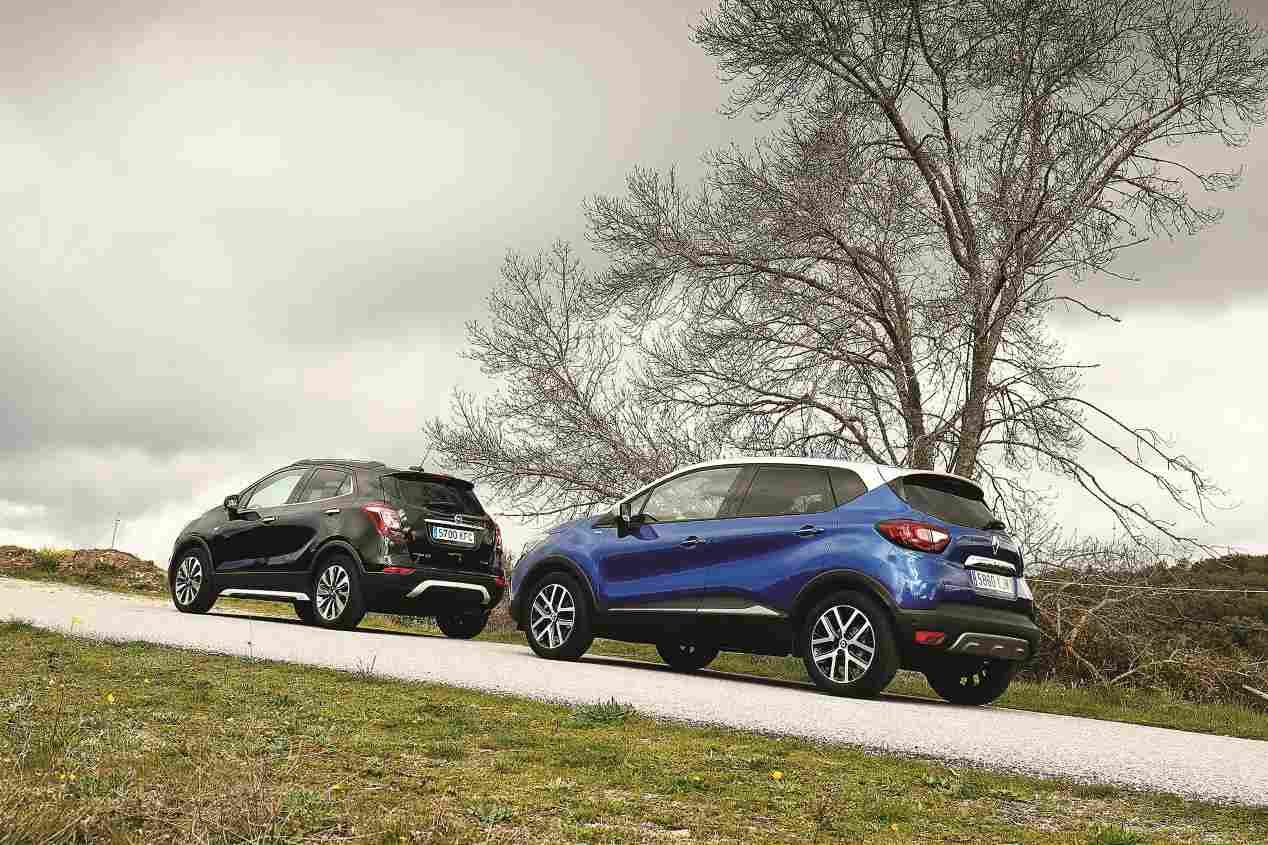 Comparativa: Opel Mokka X 1.4 Turbo vs Renault Captur 1.3 TCe