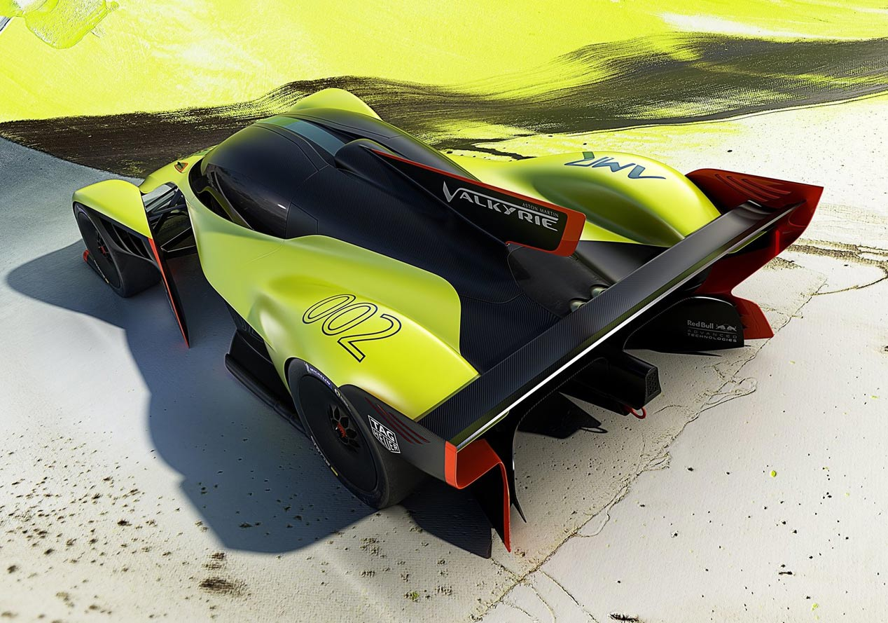 El Aston Martin Project 003, con tecnología del Valkyrie