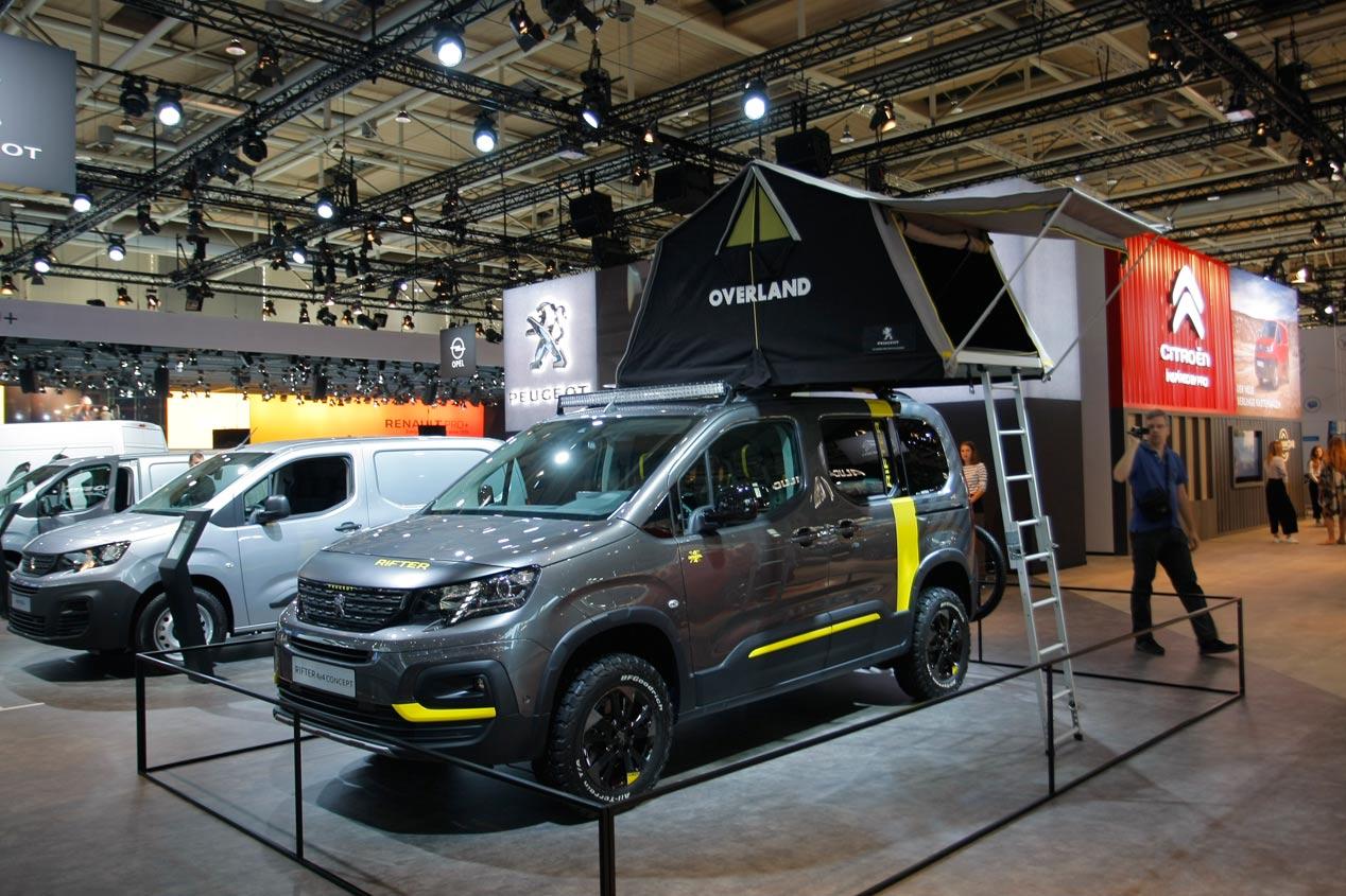 Las mejores furgonetas del Salón de Hannover 2018, en imágenes