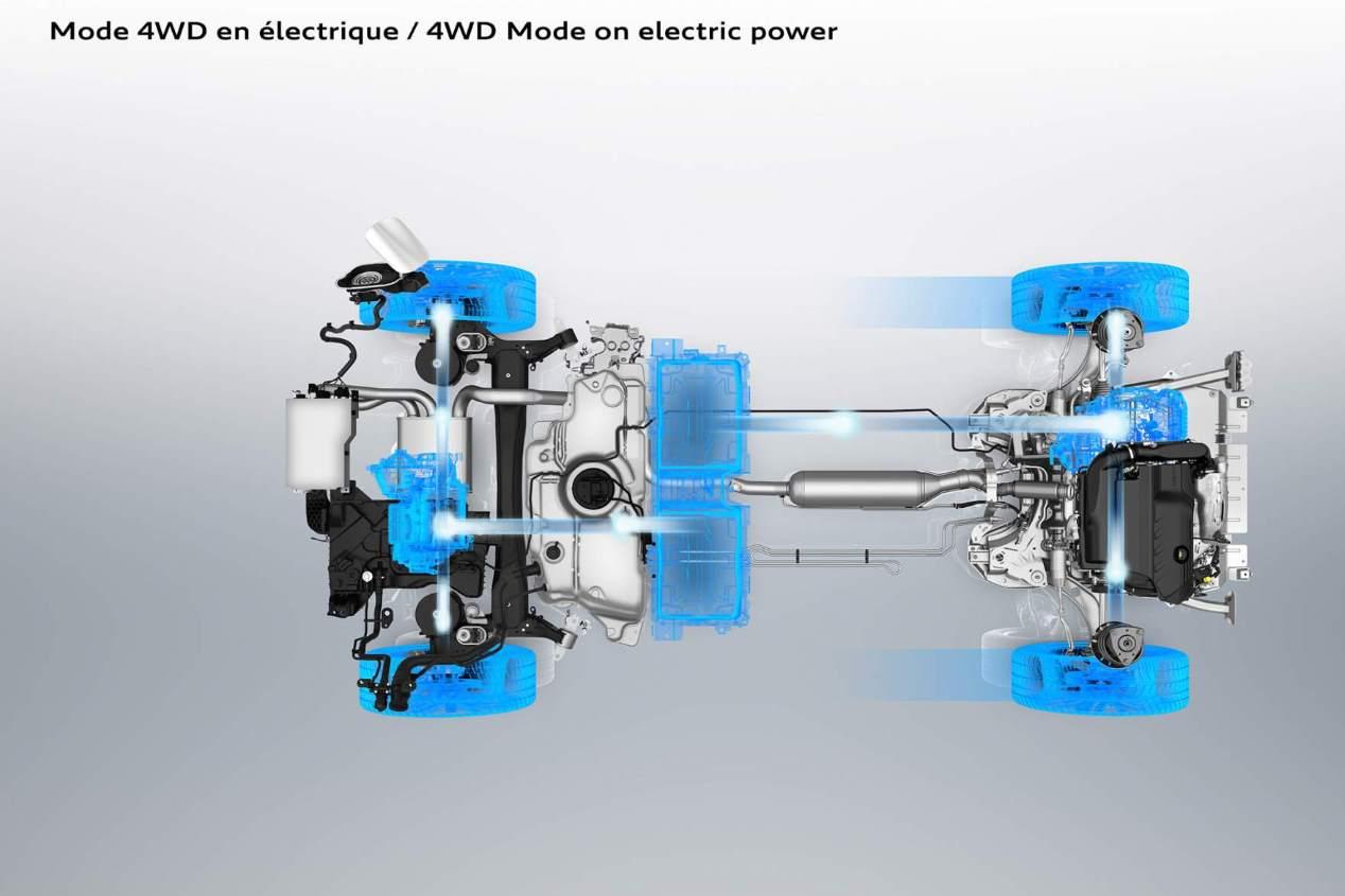 Peugeot 3008 Hybrid y Hybrid4: el nuevo SUV, en fotos