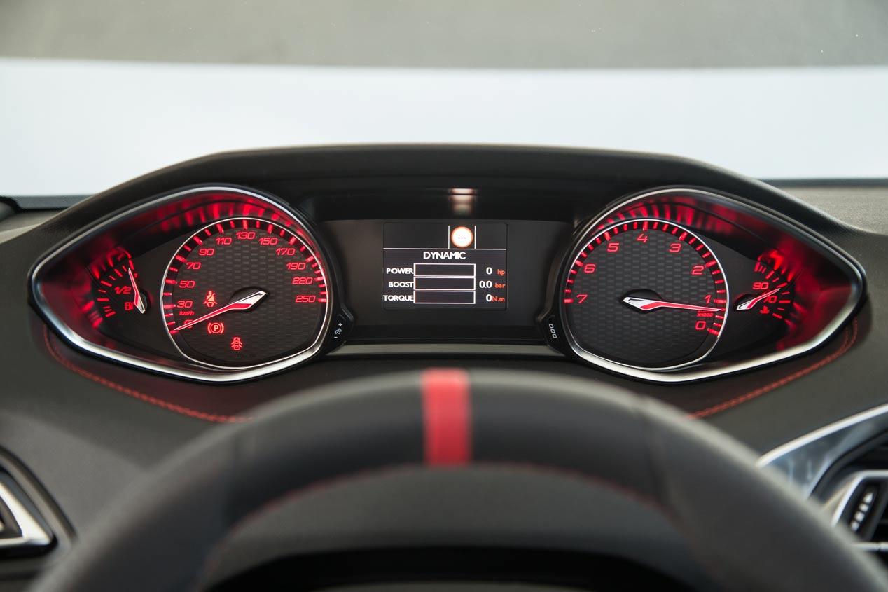 El Peugeot 308 GTi 2019, con filtro de partículas