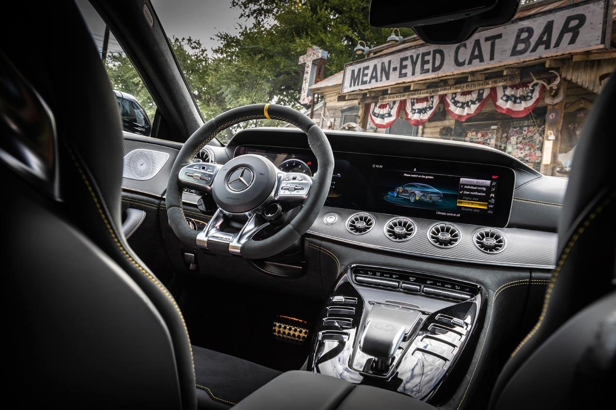 El Mercedes-AMG GT Coupé, en imágenes