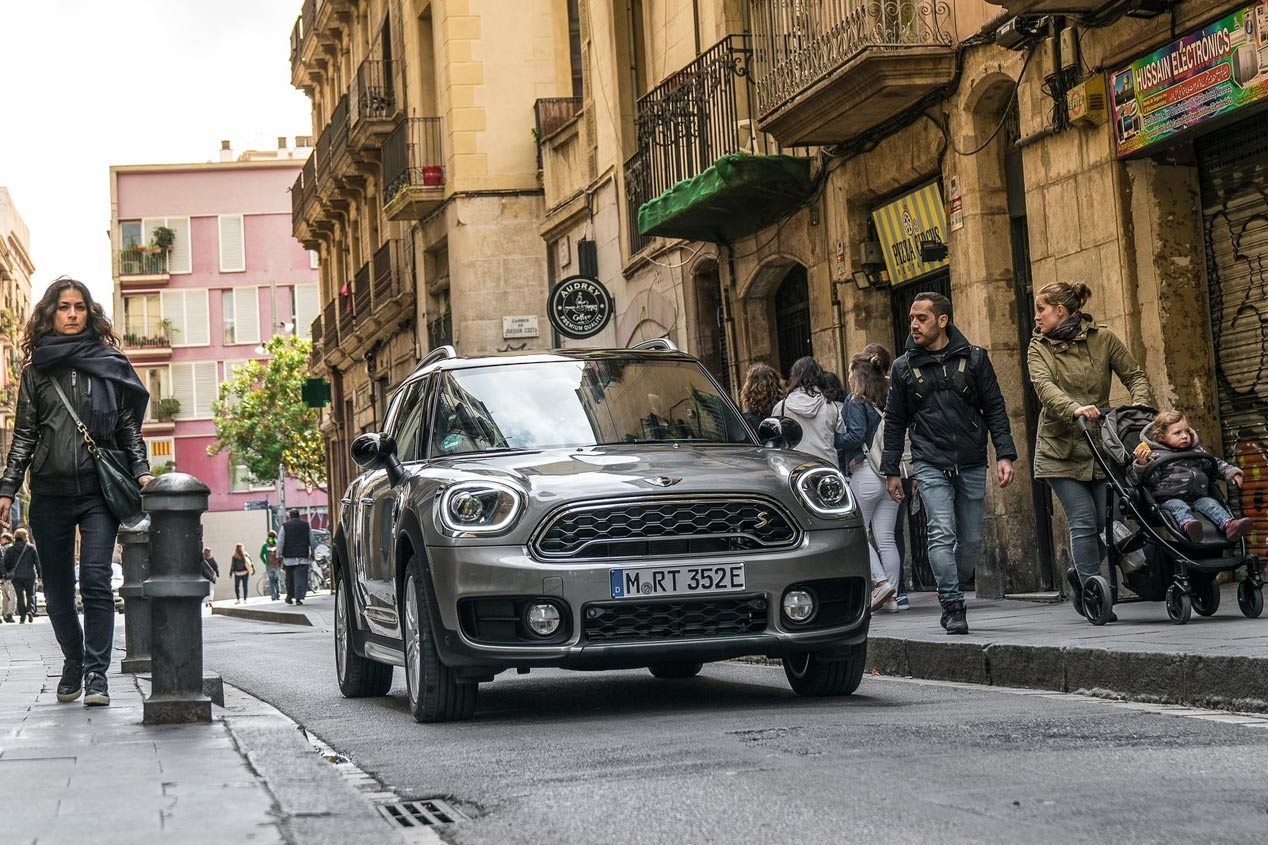 Mini Countryman Cooper S E All4: espíritu Mini con cero emisiones