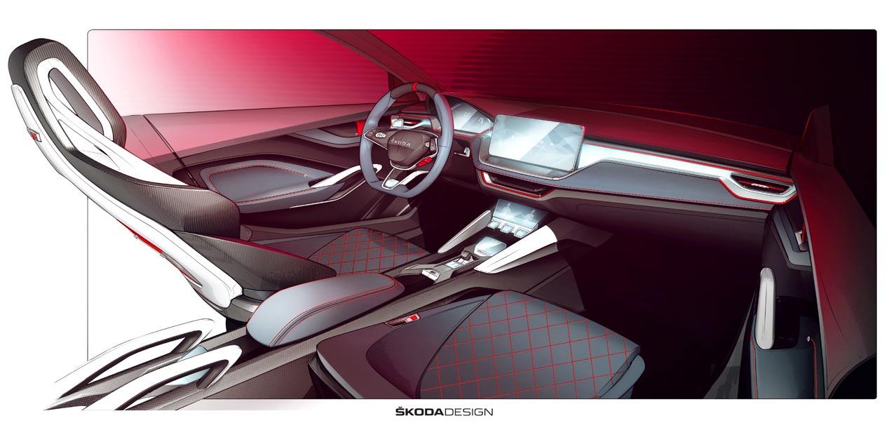 Skoda Vision RS: el sustituto del Spaceback, directo al Salón de París