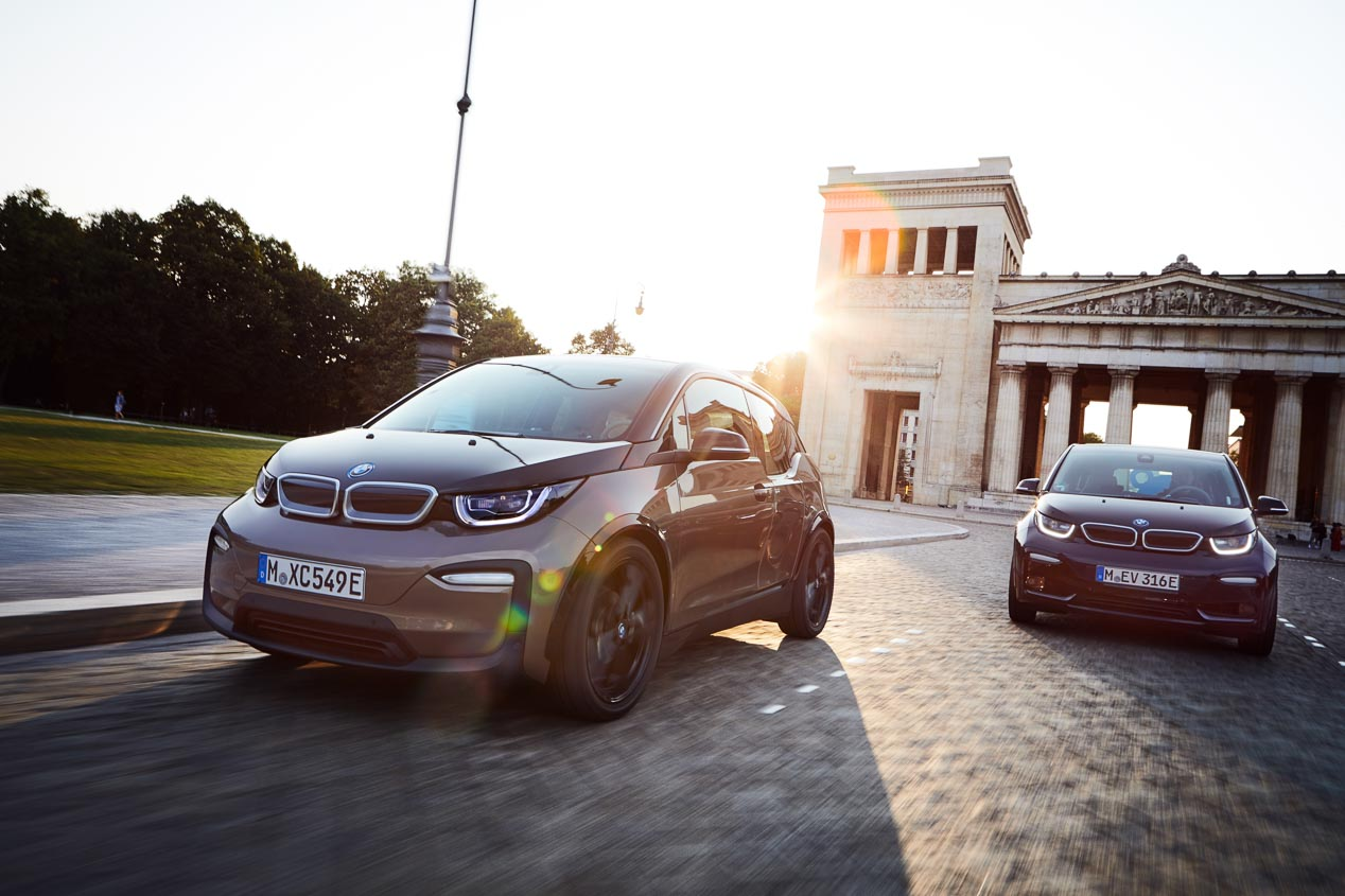 Los BMW i3 y BMW i3s con batería de 120 Ah