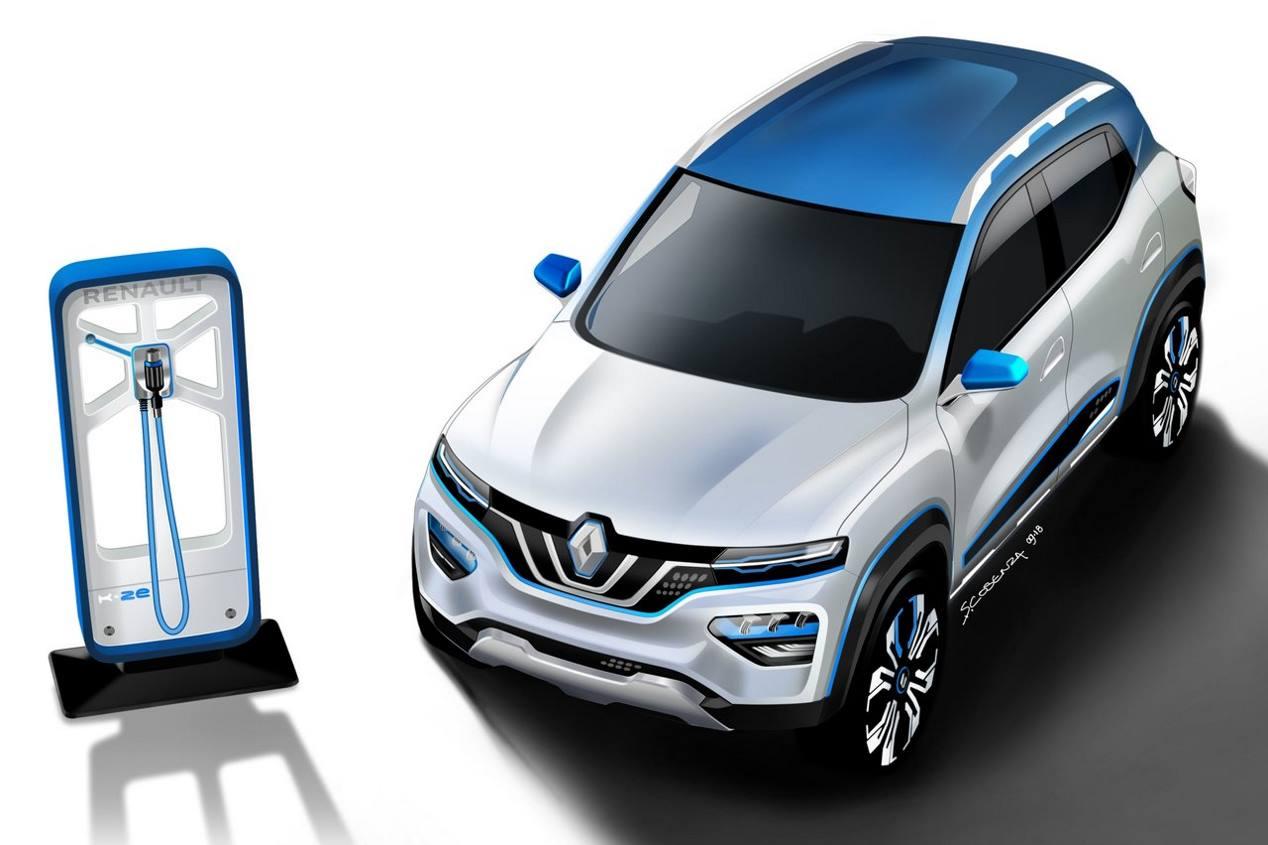 Renault K-ZE: el nuevo SUV eléctrico asequible