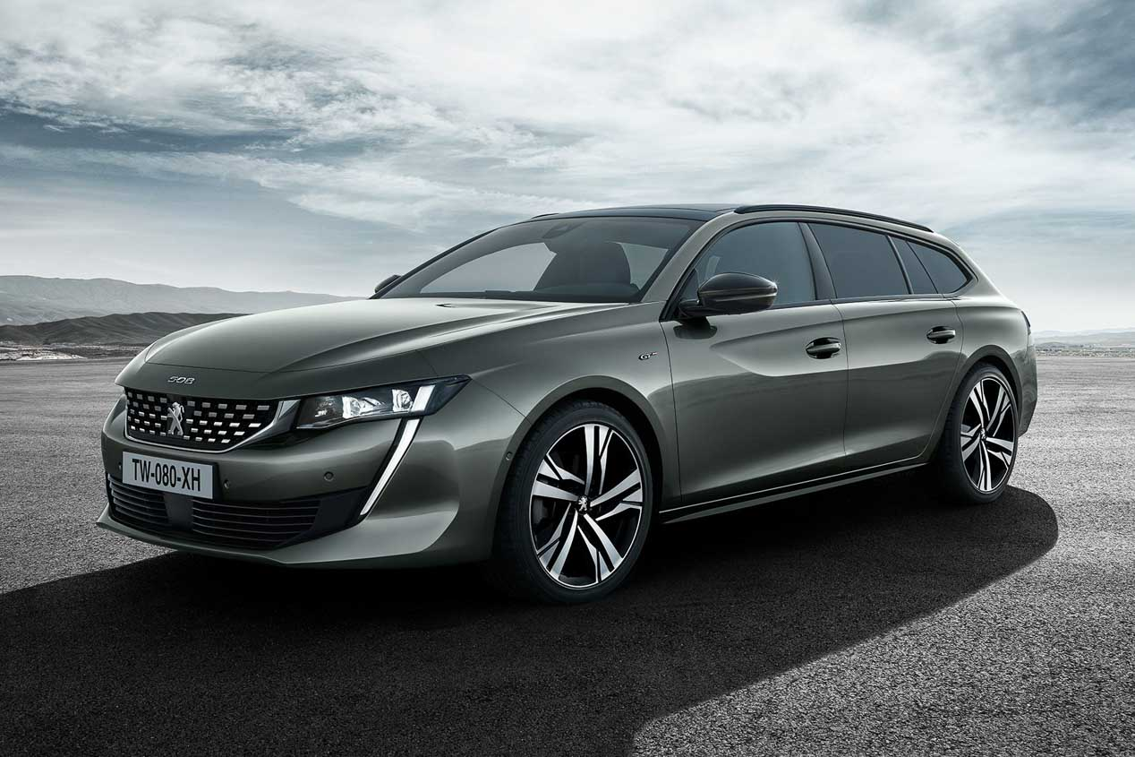 Peugeot 508 SW First Edition: una serie limitada muy exclusiva.
