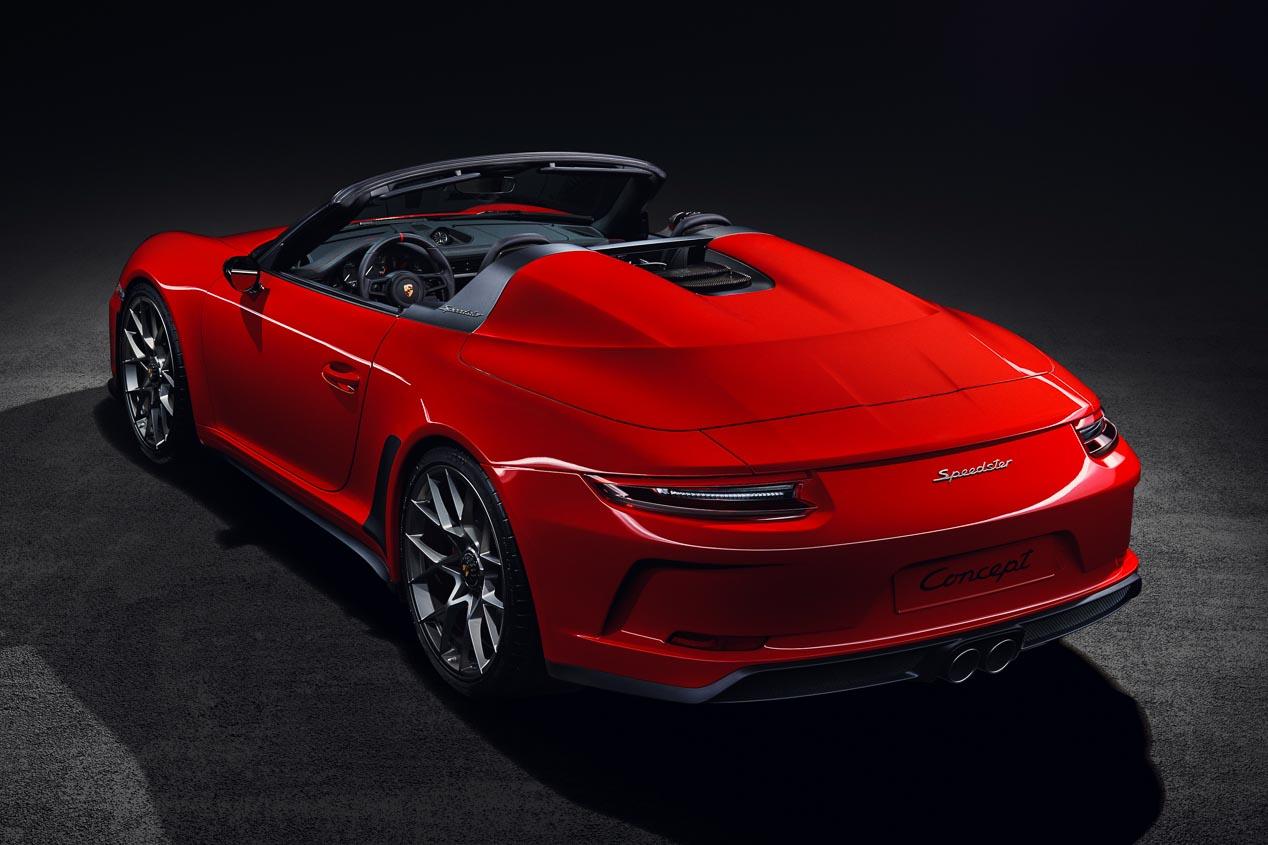 Porsche 911 Speedster: a producción en 2019