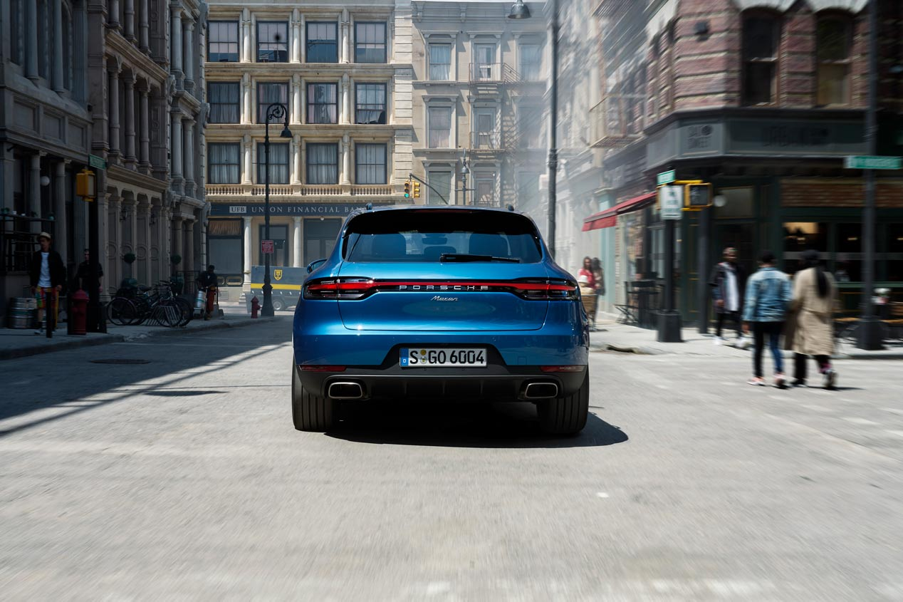 Porsche Macan 2019: estreno europeo en el Salón de París