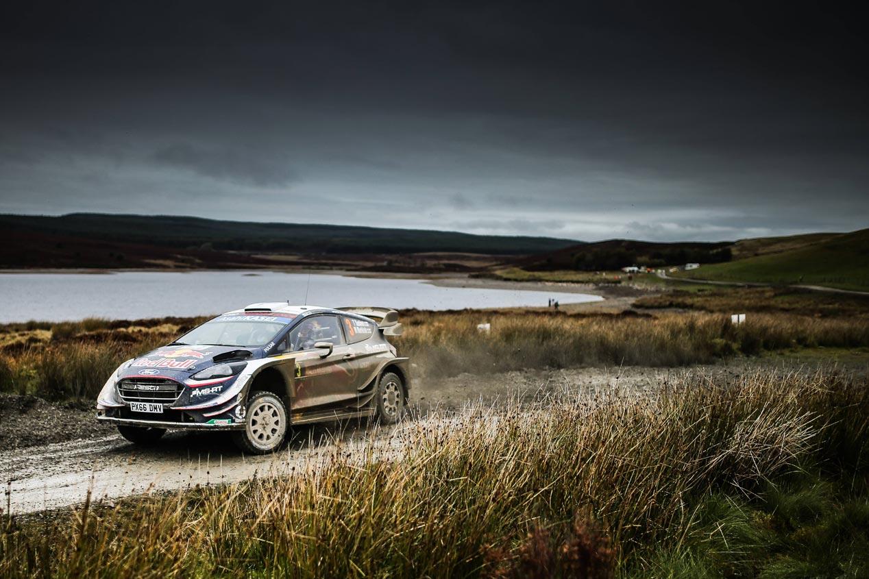 Las mejores fotos del Rally de Gales 2018