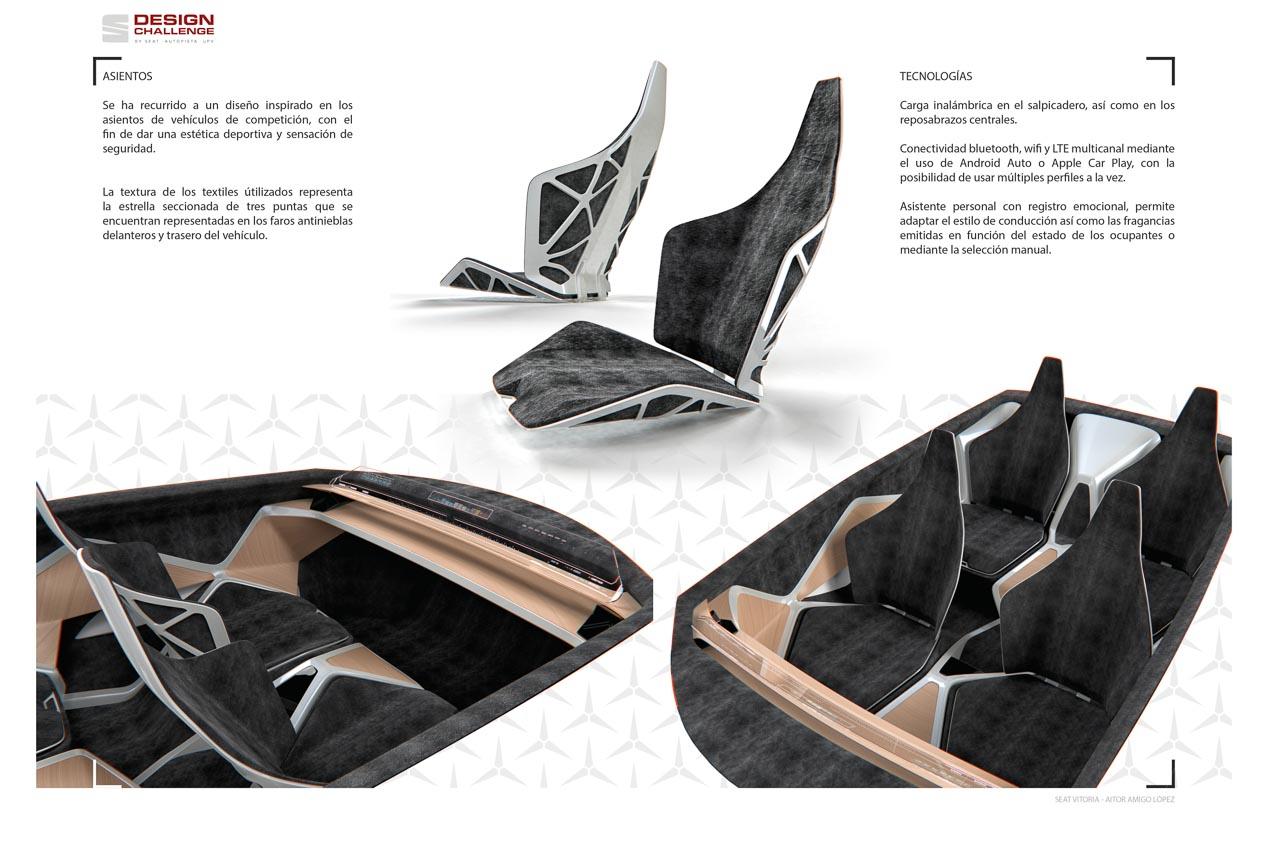 Así es el ganador del Design Challenge by SEAT, AUTOPISTA y UPV