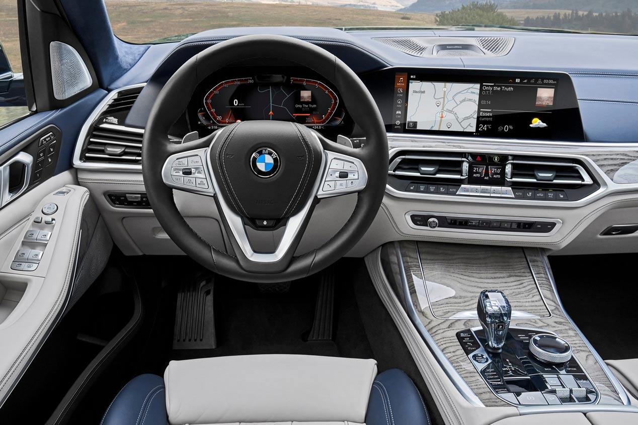 BMW X7 2019: todas las fotos oficiales del nuevo SUV