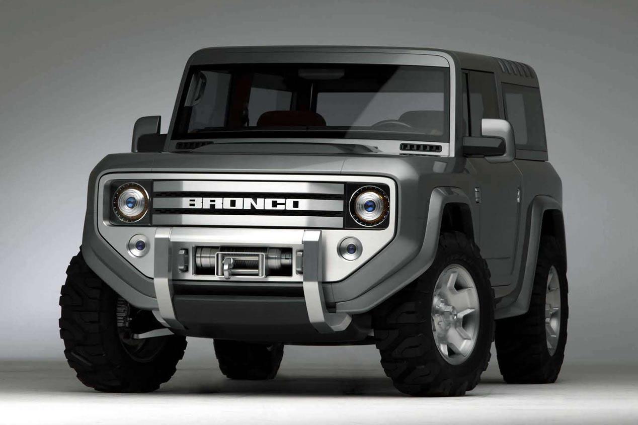 El Ford Bronco renacerá en 2020 como un auténtico 4x4