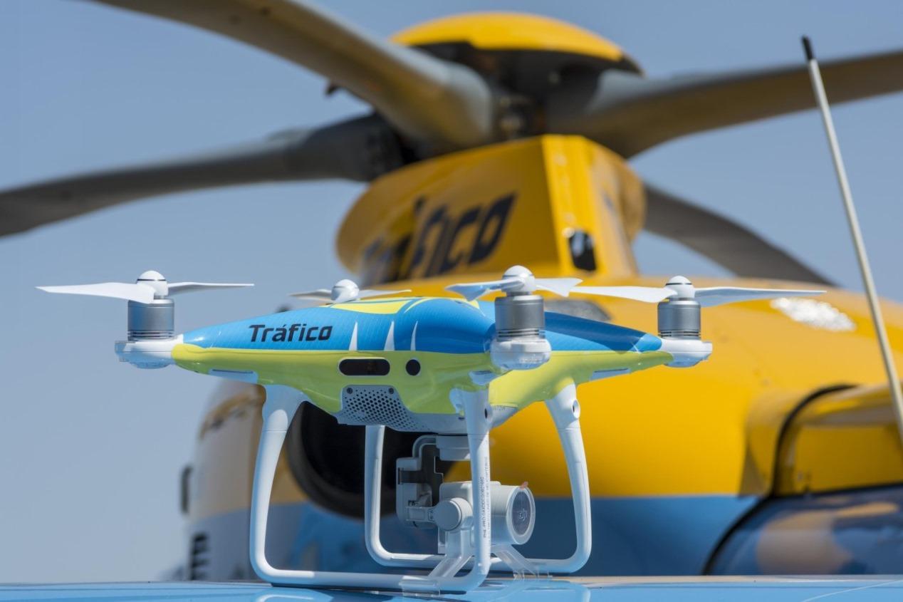 Los drones de la DGT empezarán a multar en 2019: cómo y cuándo