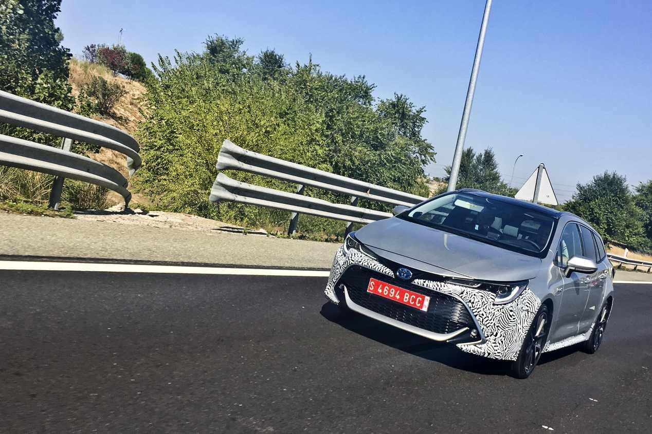 Toyota Corolla 2019: lo cazamos por España
