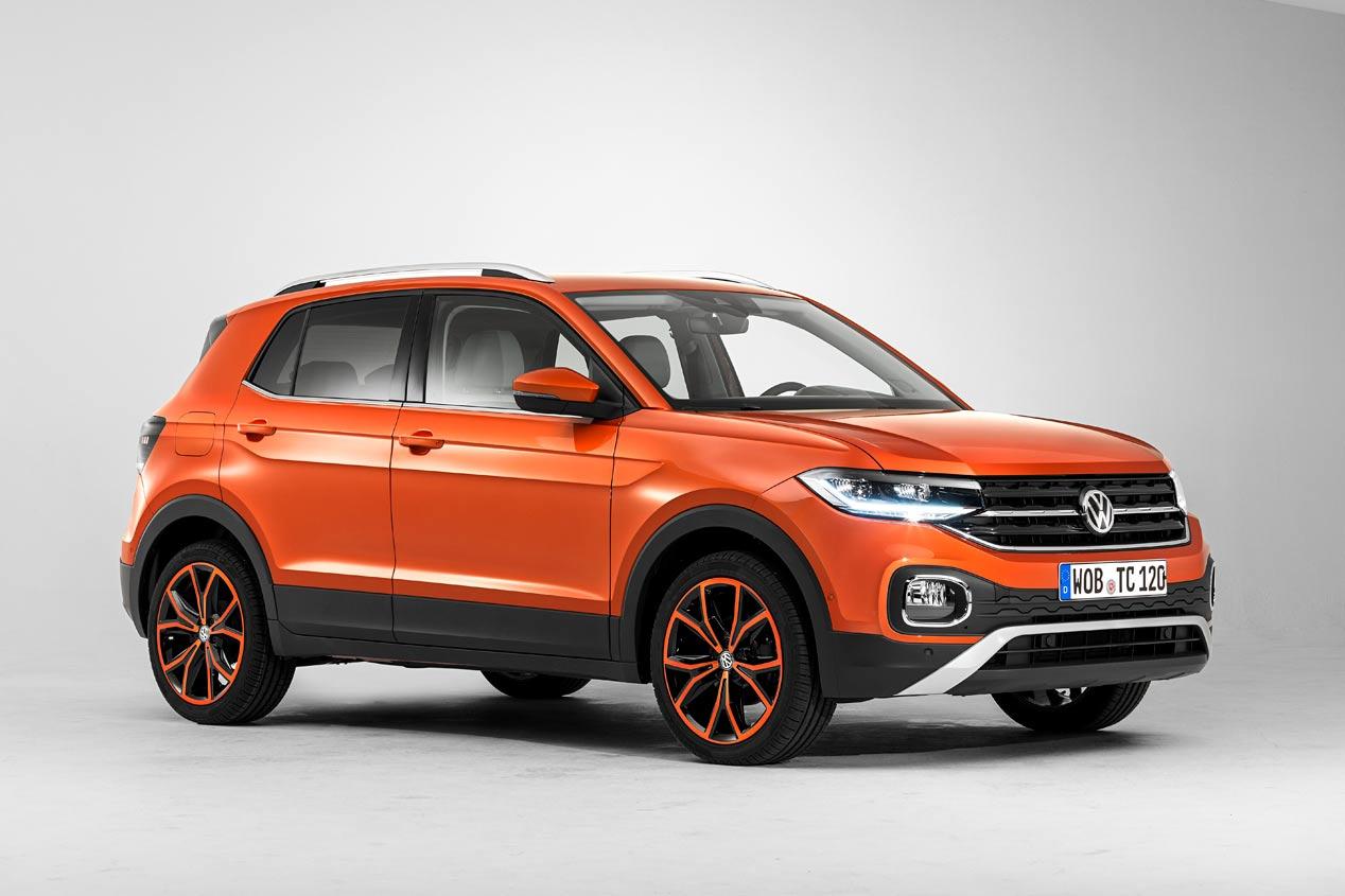 Así es el Volkswagen T-Cross: primeras imágenes oficiales del nuevo SUV