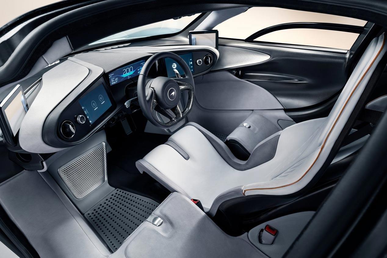 El McLaren Speedtail, en imágenes