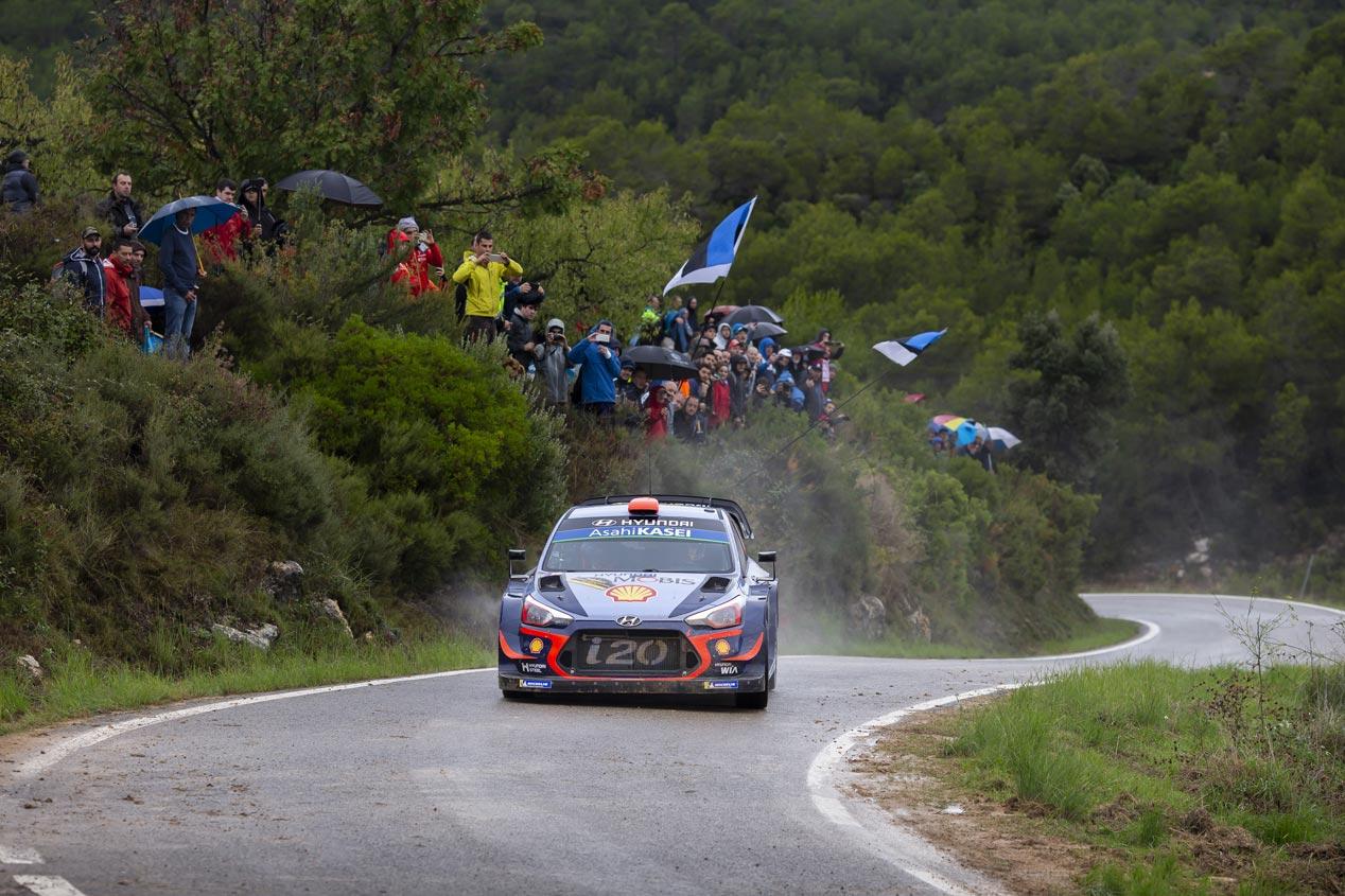 Las mejores fotos del Rally de España 2018