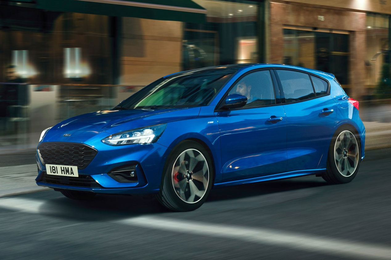 El Ford Focus ST 2019 calienta motores