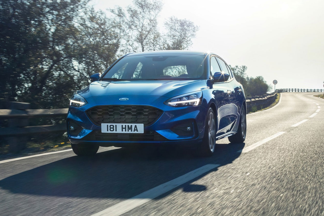 El Ford Focus ST 2019 calienta motores