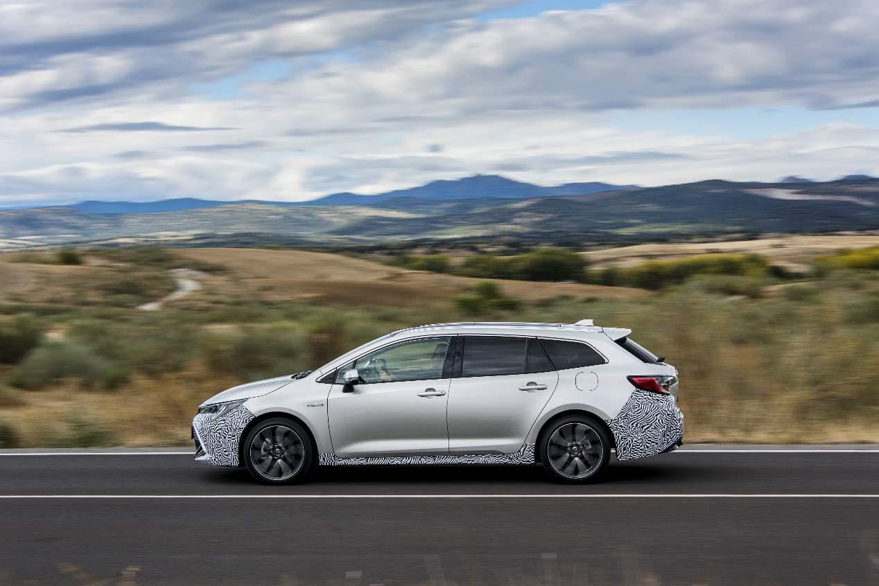 Primera prueba a bordo del Toyota Corolla 2019