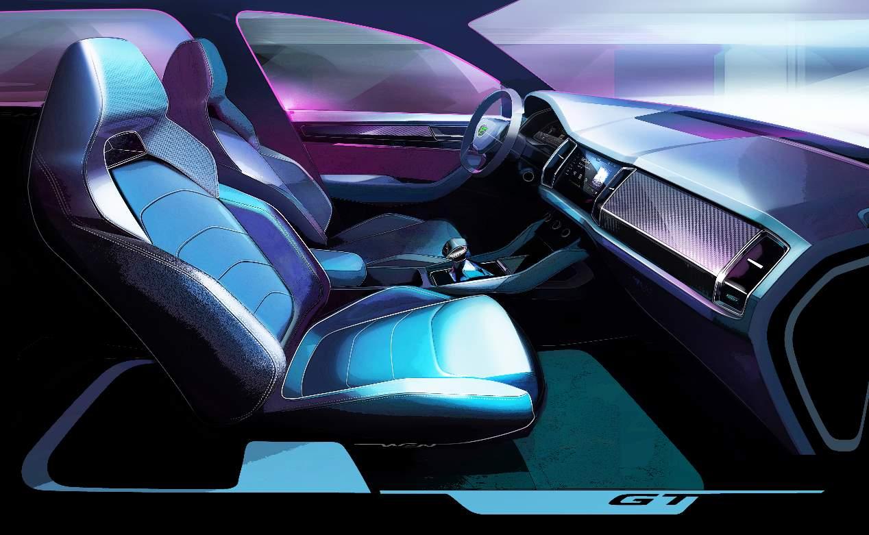Skoda Kodiaq GT: las mejores imágenes oficiales del nuevo SUV coupé