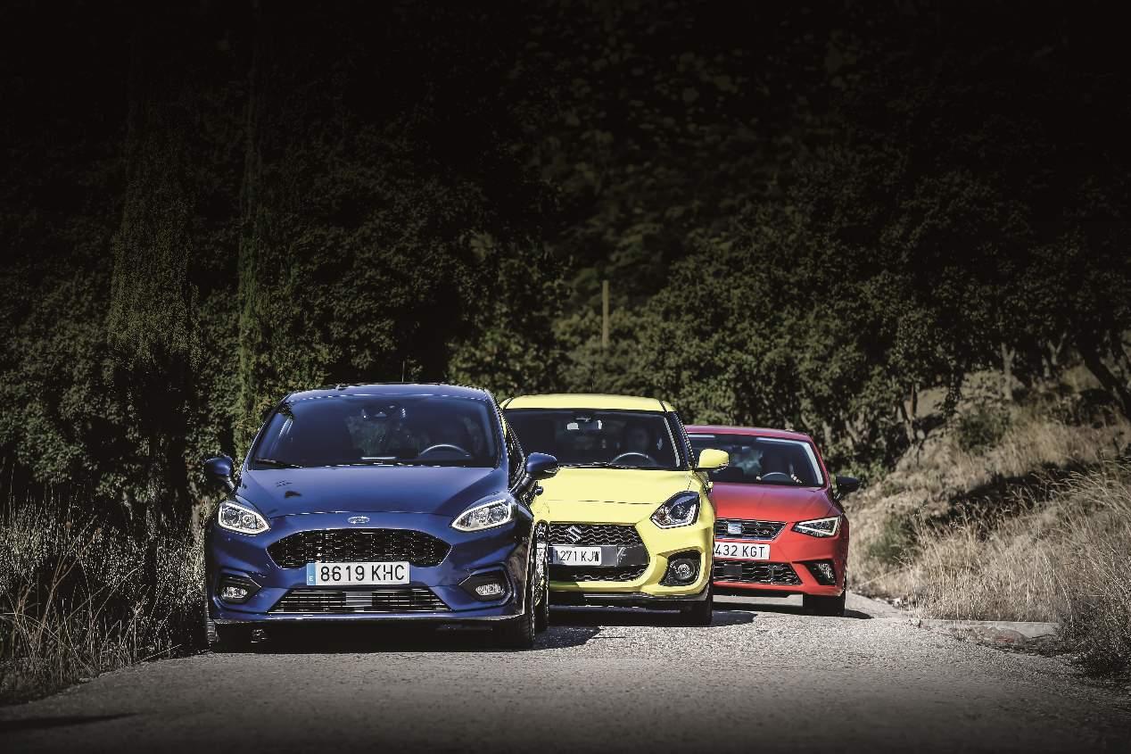 Comparativa: Ford Fiesta, Seat Ibiza y Suzuki Swift