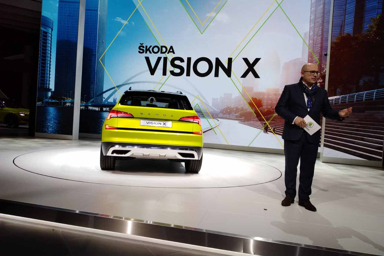 Skoda Kosmiq: así podría llamarse el nuevo SUV de Skoda