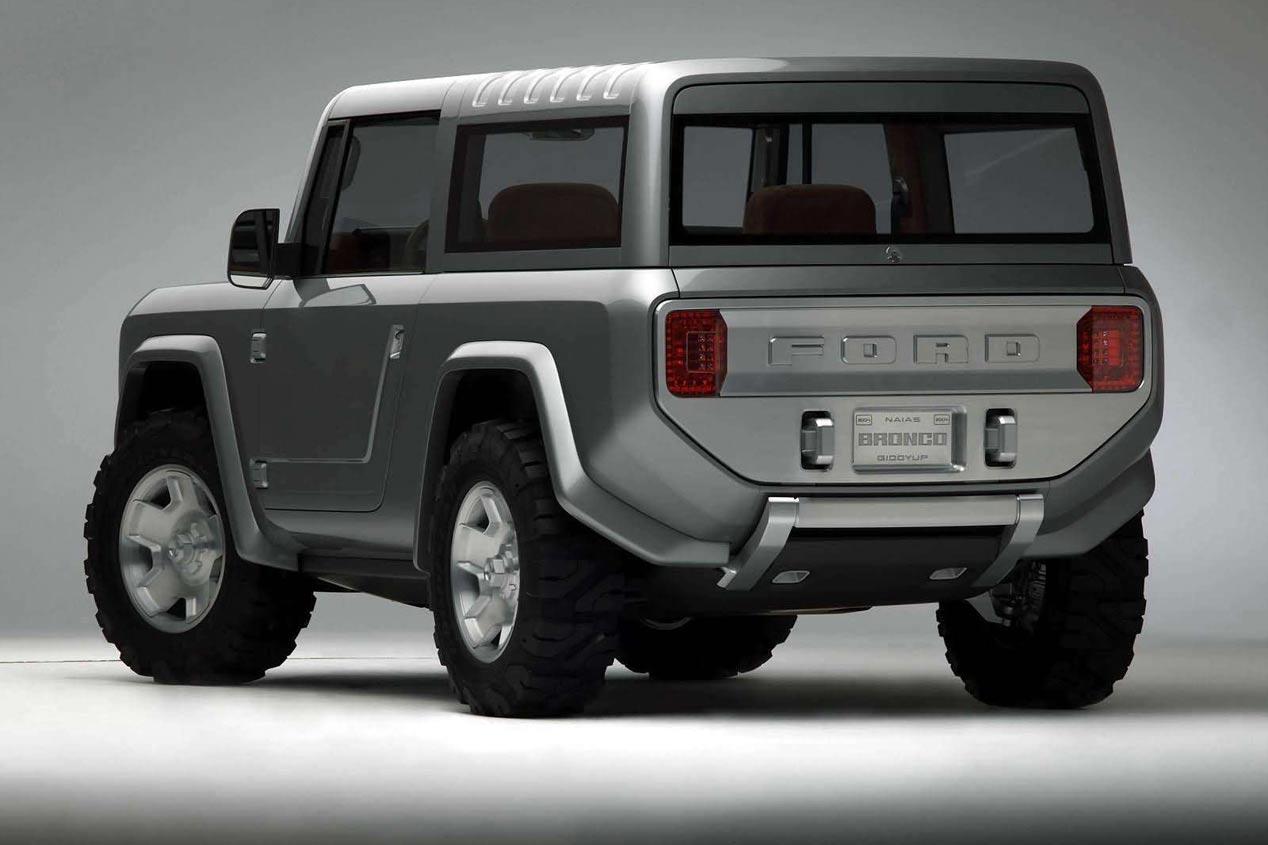 Ford Bronco: primeras imágenes oficiales del SUV