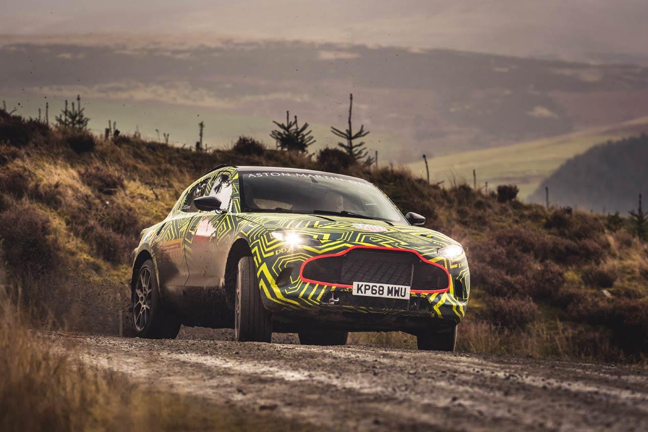 El Aston Martin DBX, primer SUV de la marca, ya rueda