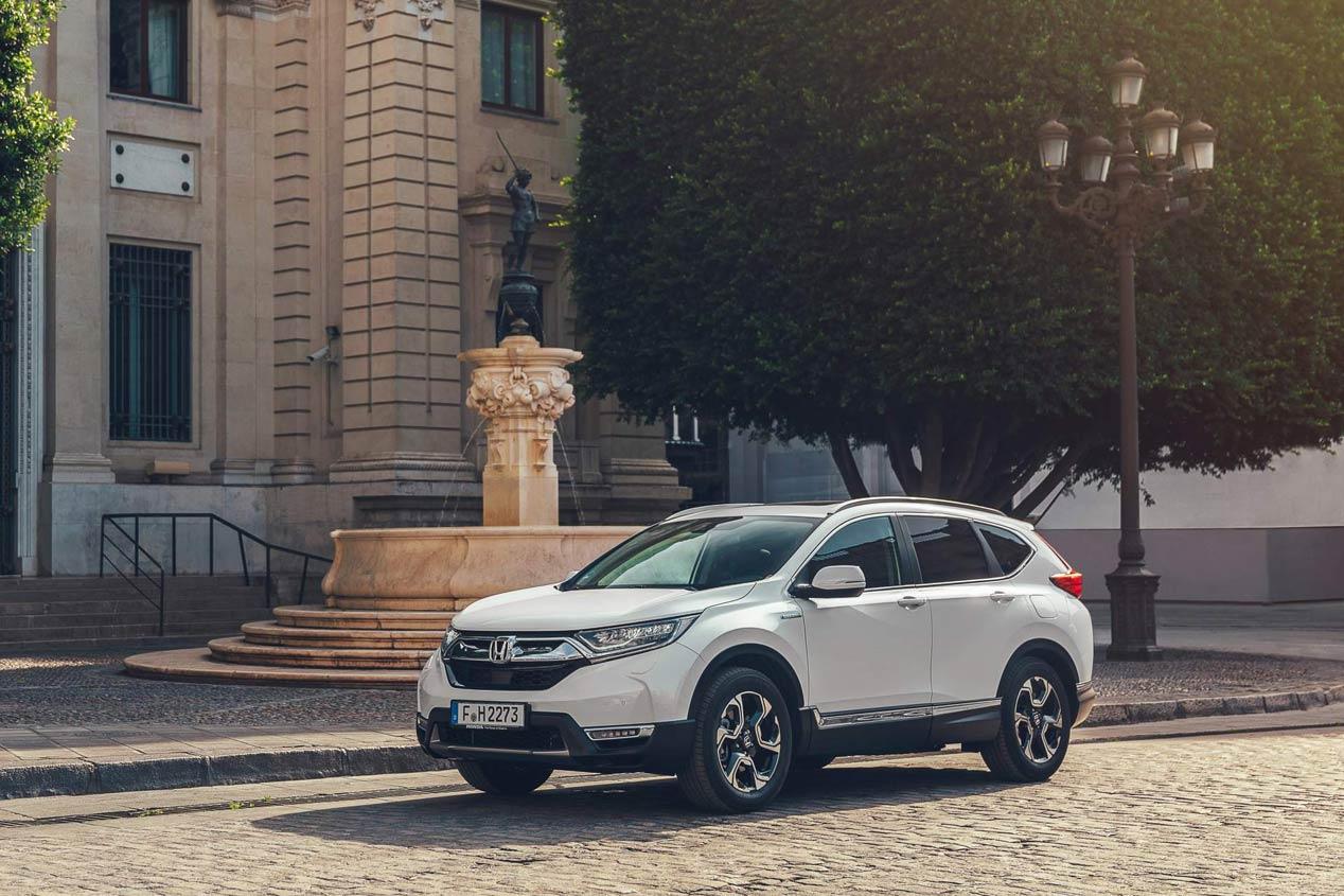 Nuevas fotos del Honda CR-V Hybrid 2019