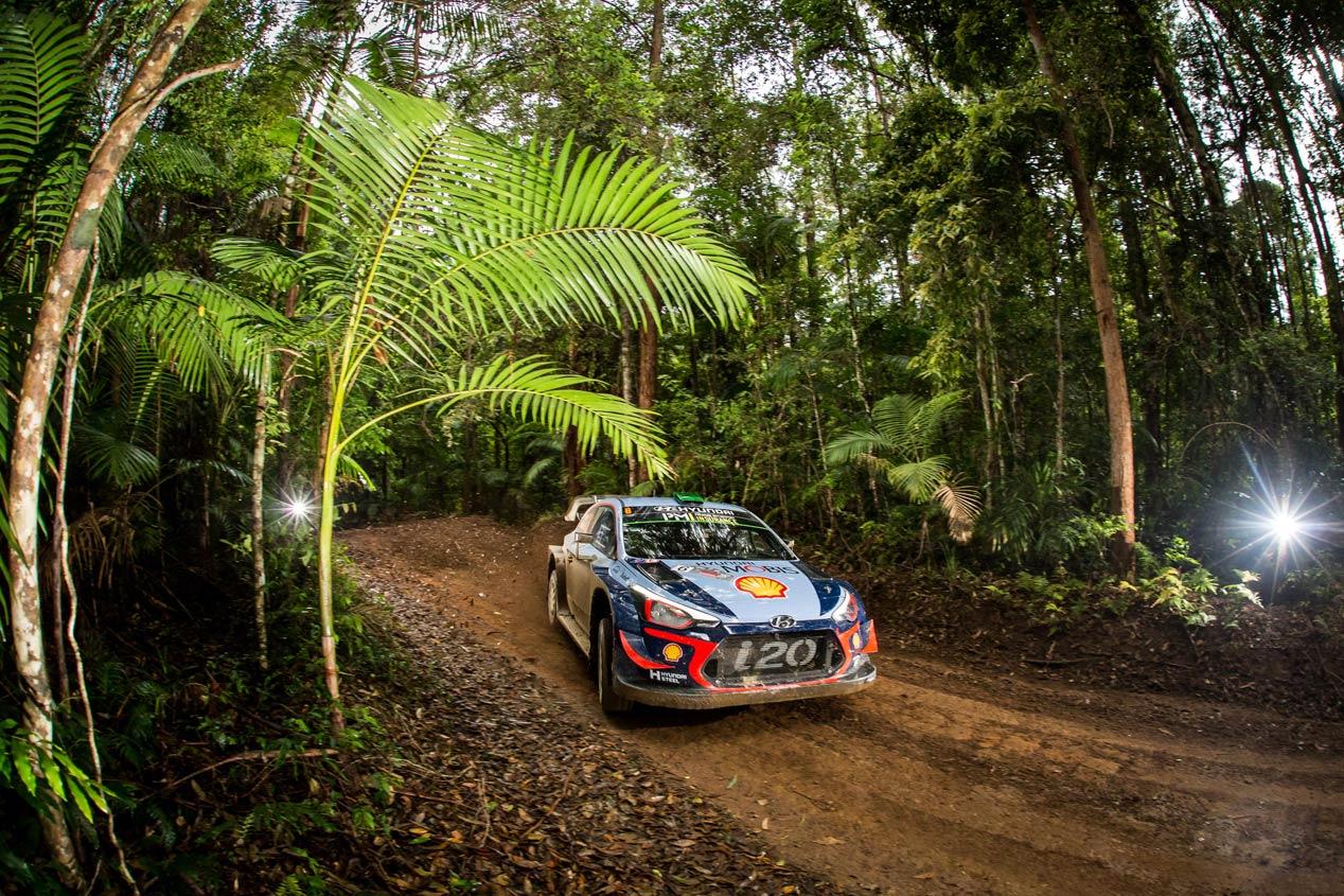 Las mejores fotos del Rally de Australia 2018