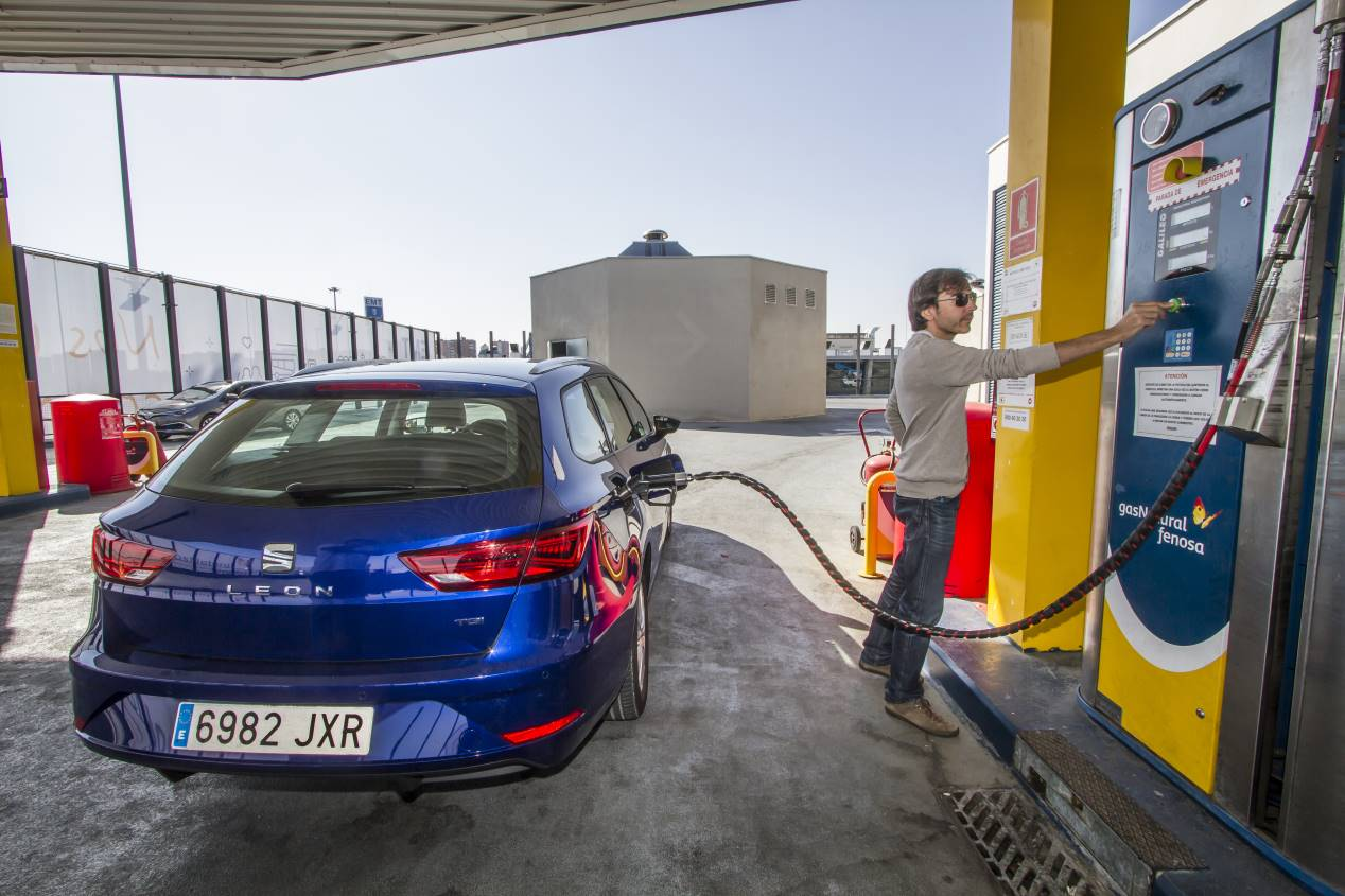 Todo sobre los coches de gas natural comprimido o GNC