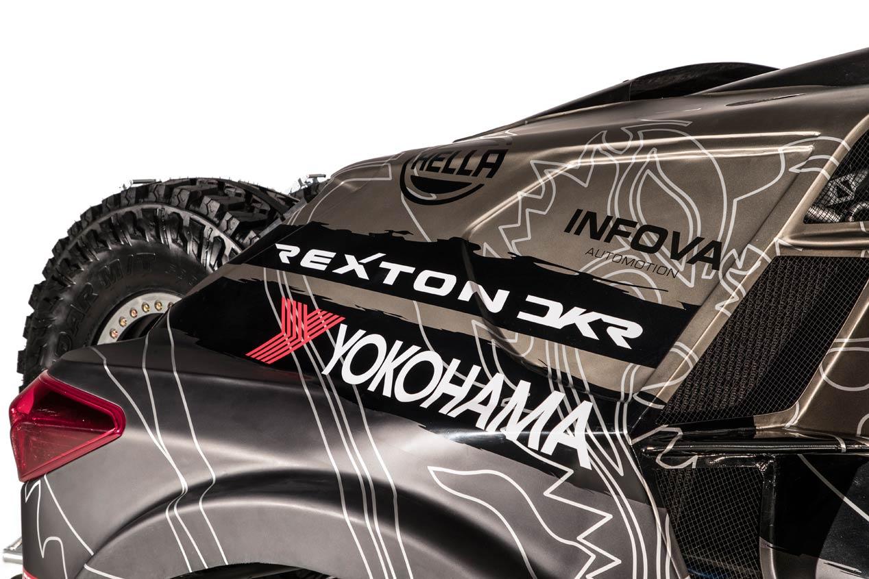 Así es el SsangYong Rexton DKR para el Dakar 2019