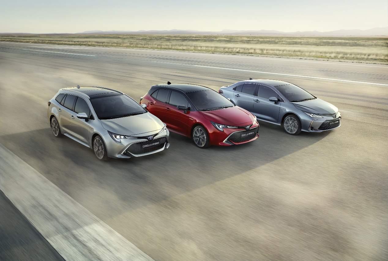 Toyota Corolla Sedán 2019 en imágenes