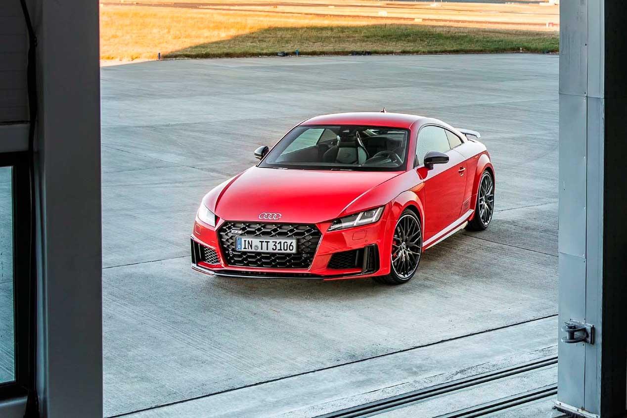 Audi TTS 2019: Prestaciones, eficacia y eficiencia de motores definen al coupe de Audi