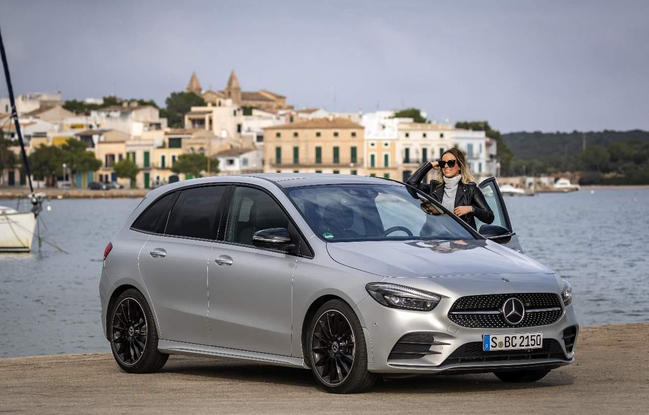 Nuestra prueba del Mercedes Clase B 2019, en imágenes