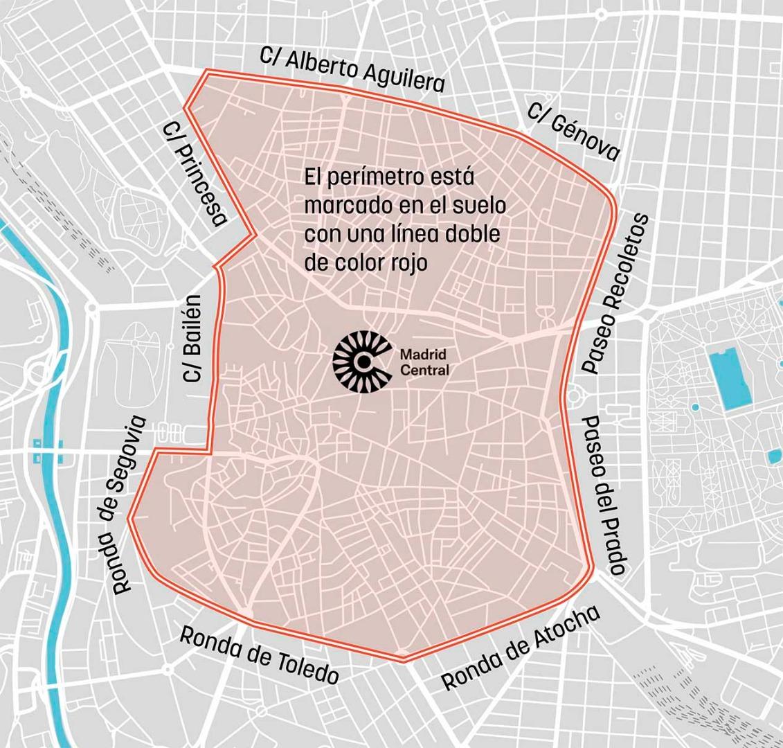 Madrid Central, todo lo que tienes que sobre sus restricciones