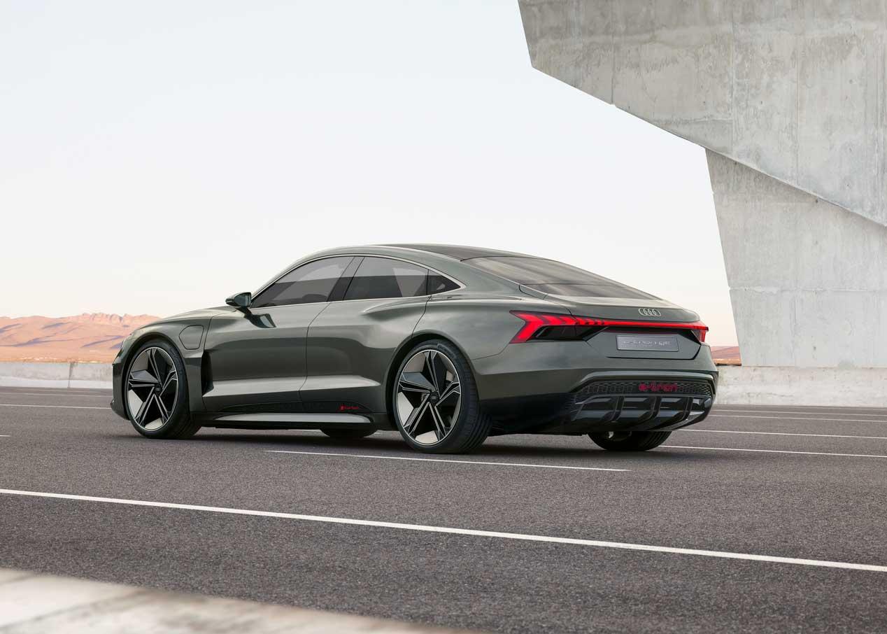 Audi e-tron GT Concept, anticipando la deportividad eléctrica de la marca